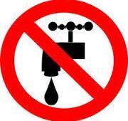 restriction d'eau